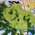 Пюре из зеленого горошка и картофеля