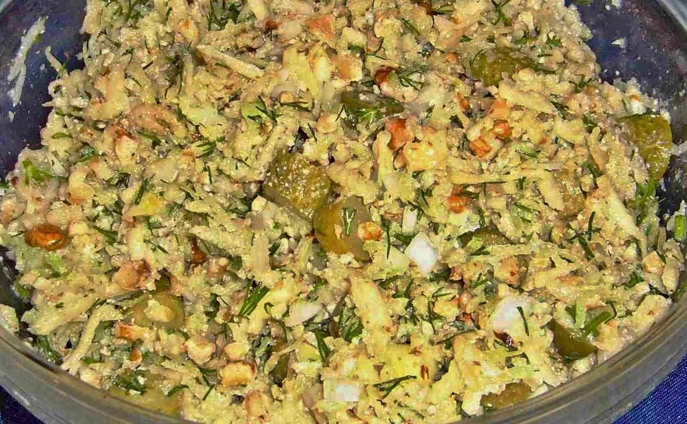 Редька салат рецепт пошагово
