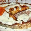 стейк лосося на гриле