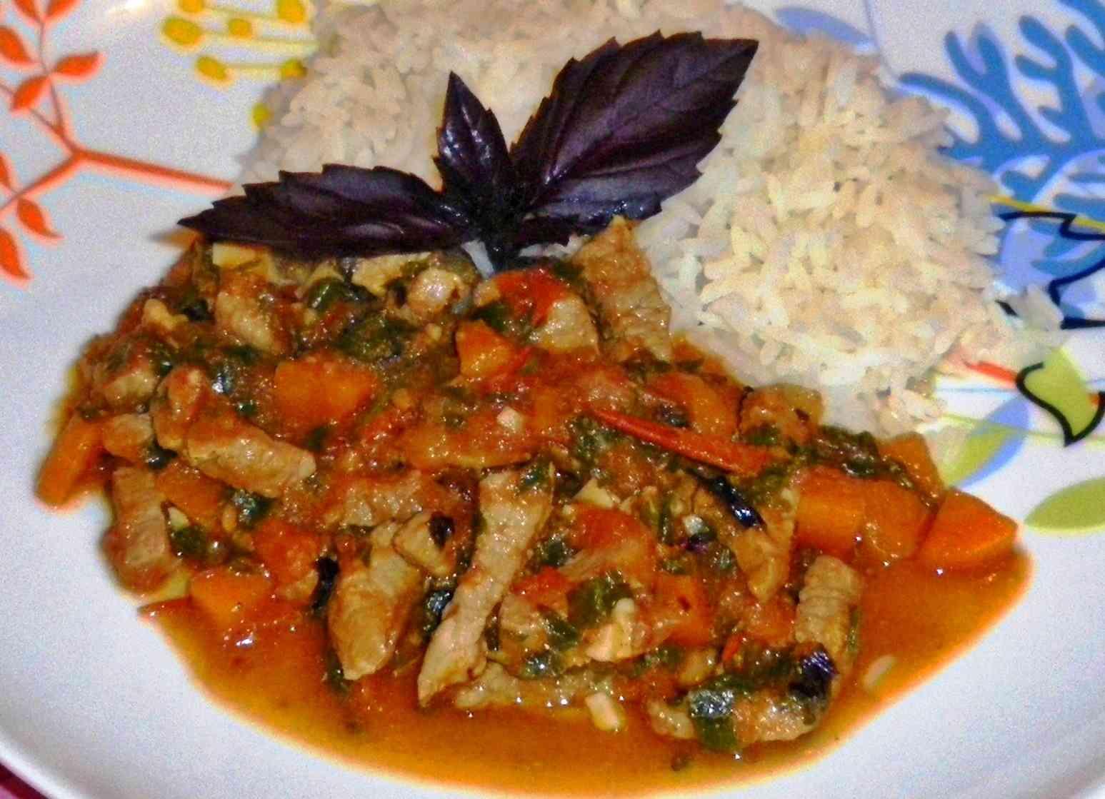 Как приготовить мясо с овощами пошаговый рецепт