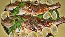 Дорада на гриле - нежная сочная рыбка с хрустящей золотой корочкой.