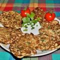 Оладьи из кабачков с чесноком и зеленью