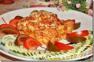 макаронная запеканка с индейкой и сыром (1)