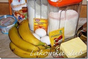 банановый пирог со сгущенкой 1