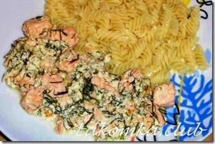 лосось в сливках на сковороде — копия (1)