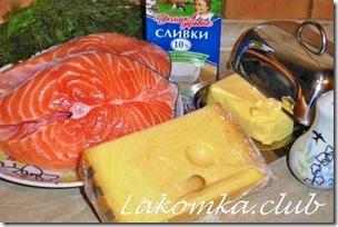 лосось в сливках на сковороде лосось (1)