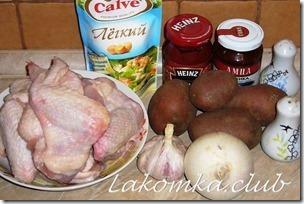 куриные крылышки в духовке с картошкой в рукаве (2)
