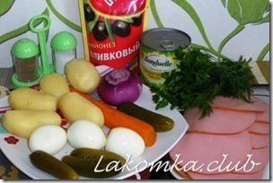 салат оливье с колбасой (3)