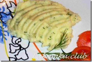 пюре картофельное с молоком и маслом