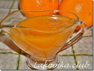 как приготовить апельсиновый соус 0
