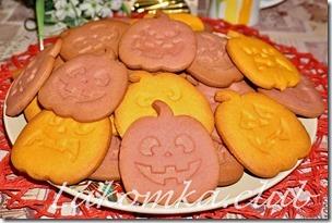 Печенье на Хэллоуин Тыквы (1)
