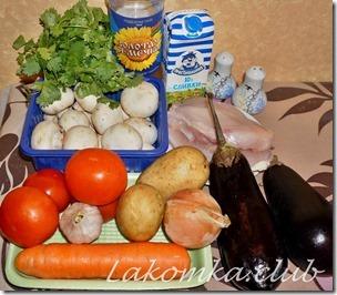 картошка с грибами и курицей в горшочках (3)