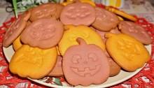 Печенье на Хэллоуин Тыквы