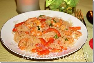 Салат Фунчоза с креветками (1)