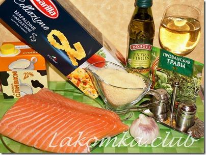 паста с лососем в сливочном соусе (3)
