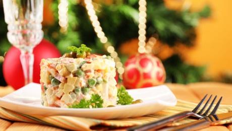 Закуски и салаты на Новый 2018 год