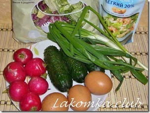 салат из редиса с огурцами и яйцами (3)