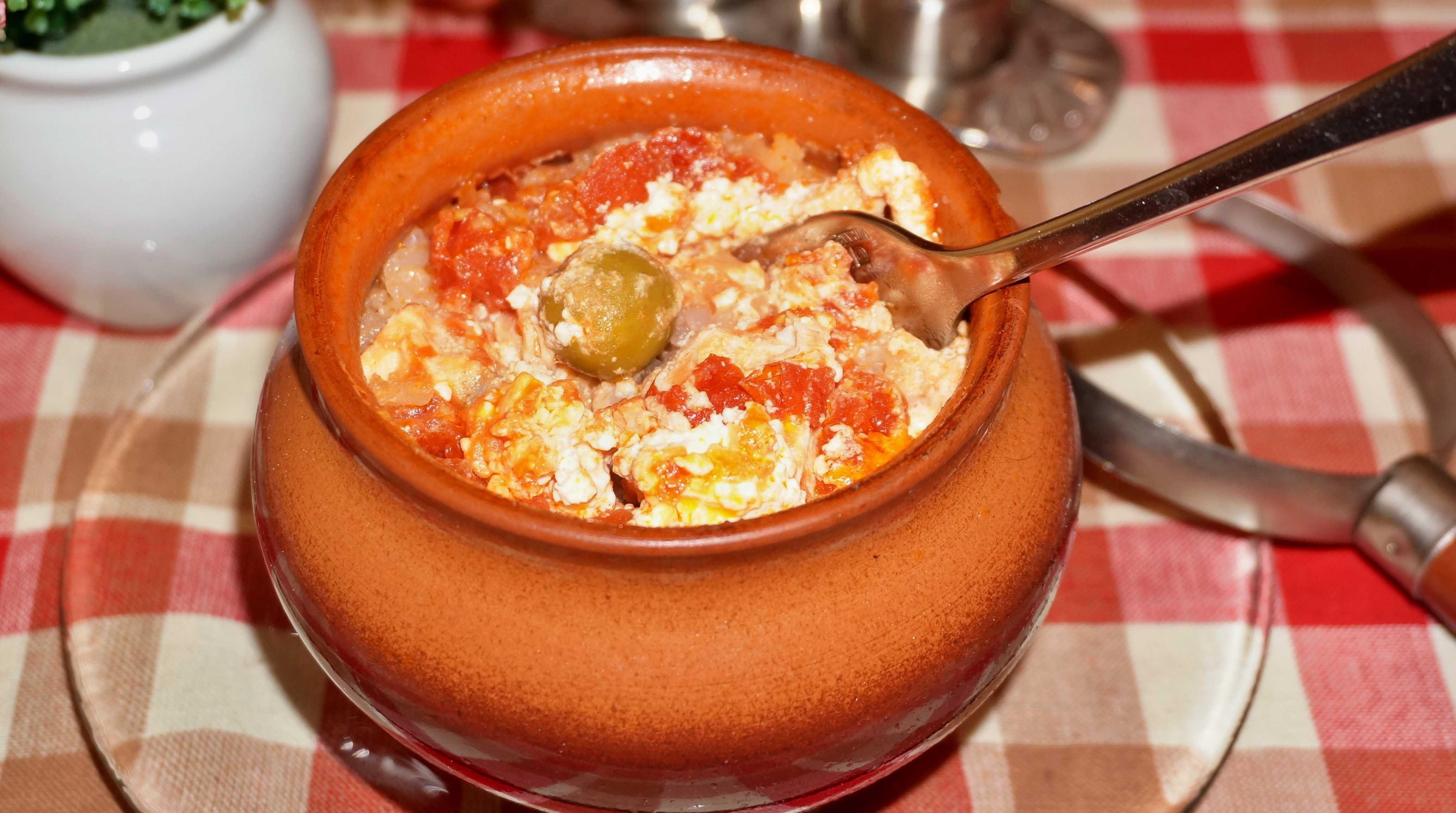 Рис в горшочке с курицей в духовке рецепт пошагово