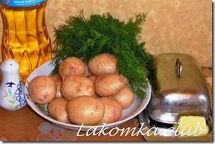 Жареный молодой картофель (2)