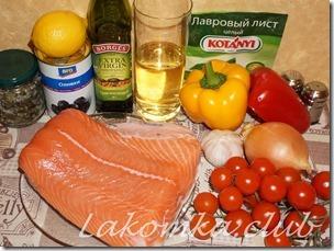 рыба с болгарским перцем и помидорами (3)