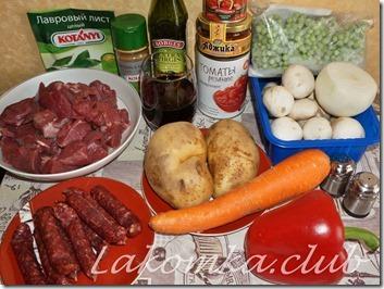 томатный суп с охотничьими колбасками фото рецепт (2)