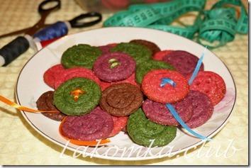 Песочные печенья Пуговицы
