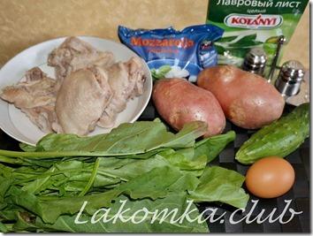 Щавелевый суп с яйцом на курином бульоне (3) (1)