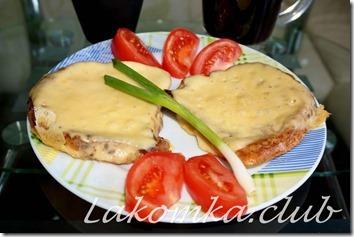 хлеб жаренный в яйце с сыром (1)