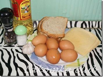 хлеб жаренный в яйце с сыром (3) (1)