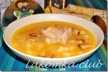 гороховый суп со свиными ребрышками (3)