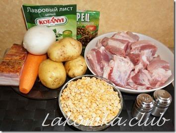 гороховый суп со свиными ребрышками (4)