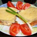 хлеб жаренный в яйце с сыром