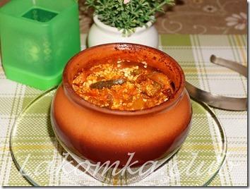утка с картошкой в горшочке в духовке (2)