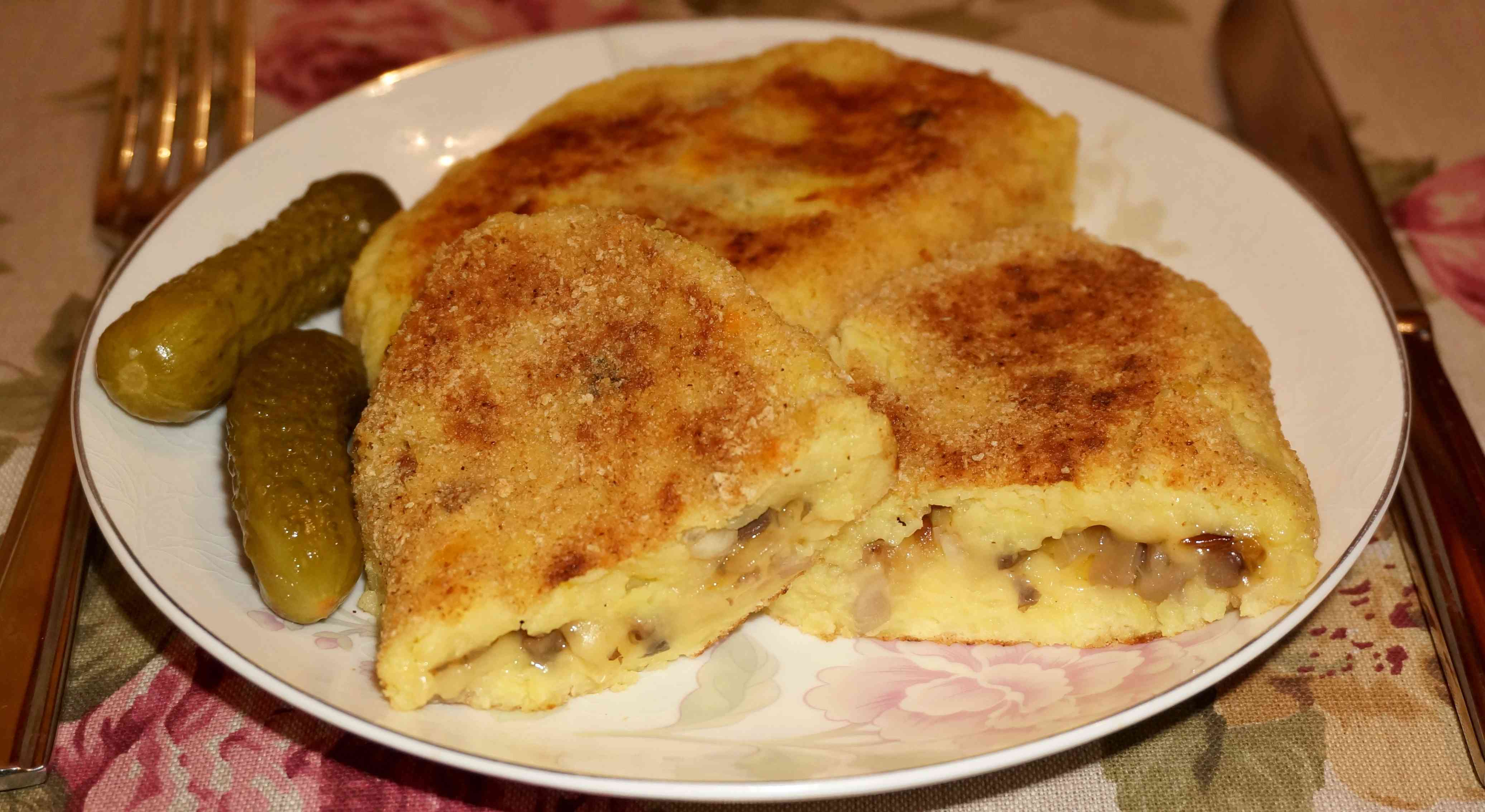 Картофельные биточки из пюре рецепт с фото