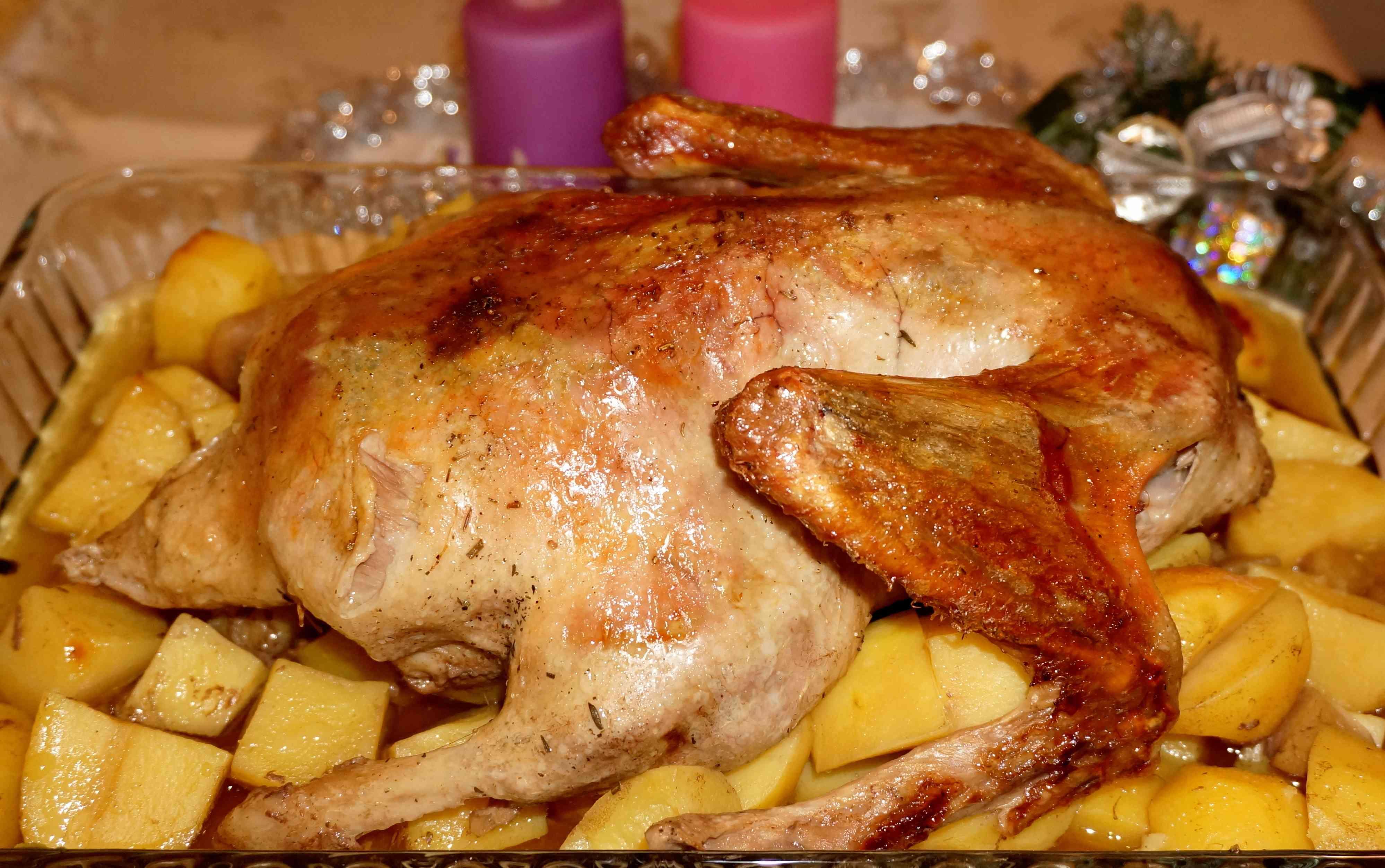 Утка в рукаве в духовке - пошаговый рецепт с фото: как. - pojrem