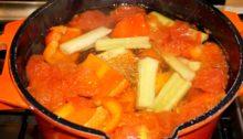 Вкусный овощной бульон