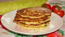 Кабачковые оладьи, рецепт на сковороде