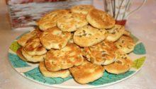 Французское печенье Сабле с оливками