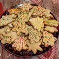 Новогоднее печенье с корицей, имбирем и гвоздикой