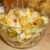 Салат из риса с оливками и сыром