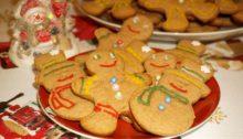 Печенье имбирные человечки