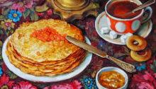 Рецепты блинов на Масленицу
