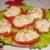 Помидоры с плавленым сыром и чесноком