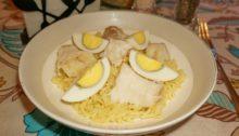 Рис с копченой рыбой Кеджери