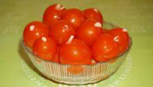 Консервированные помидоры черри