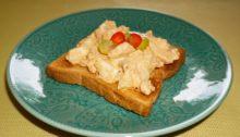 Намазка на хлеб из яиц