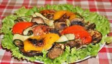 Овощи-гриль в домашних условиях в духовке