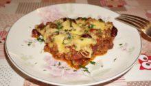 Красная фасоль с фаршем в томатном соусе