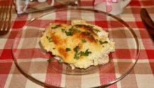 Куриное филе в сливках с сыром