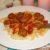 Макароны с фрикадельками в томатном соусе